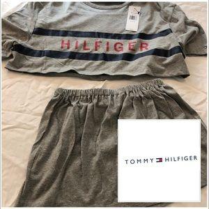 Tommy hilfiger, custom crop twin set, 4-6, nwt